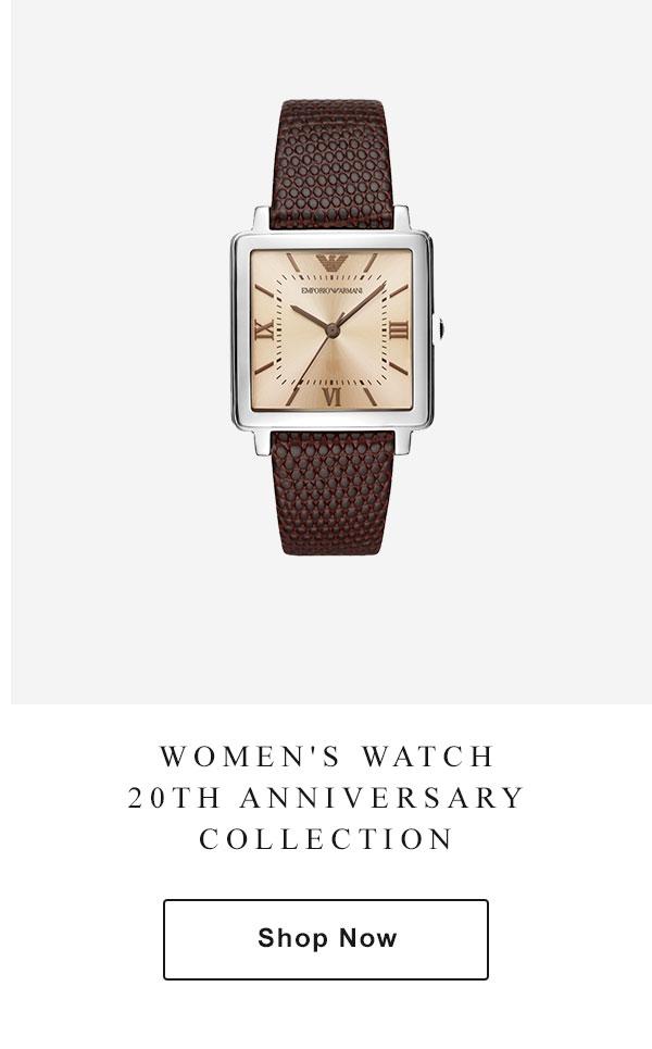 b4fff3ccf5 Emporio Armani - Emporio Armani Watches 20th Anniversary Collection