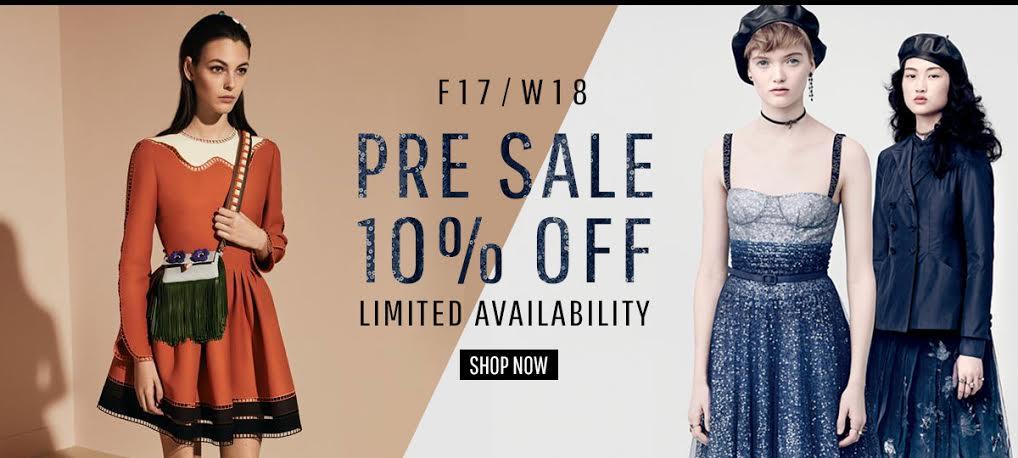 Pre-Sale FW17/18