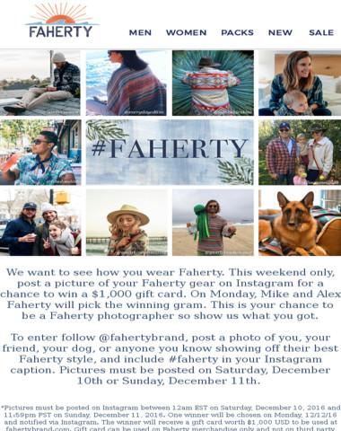 Faherty - #Faherty