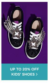 Up To 20% Off Kid's Shoes