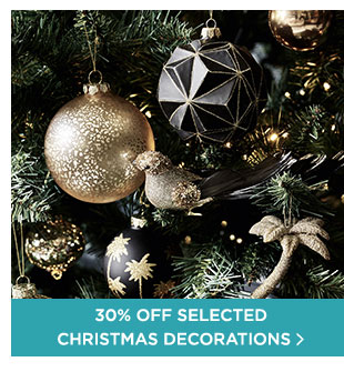 30% Off On Christmas Decorations