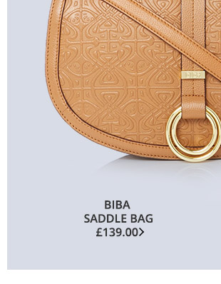 Shop Biba saddle bag