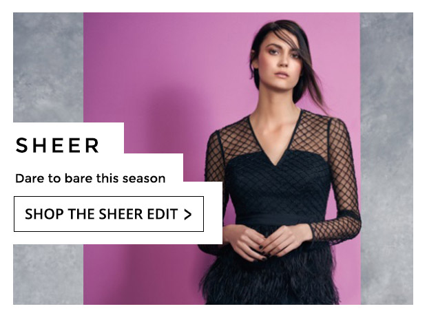 Shop The Sheer Edit