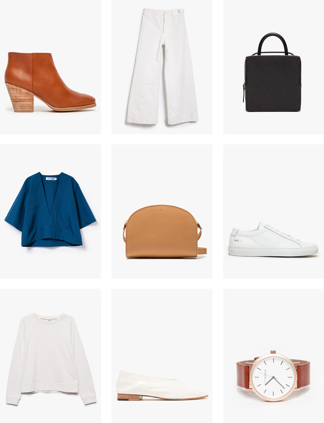 Back in Stock Wardrobe favorites from Martiniano, Jesse Kamm, Kaarem and more.