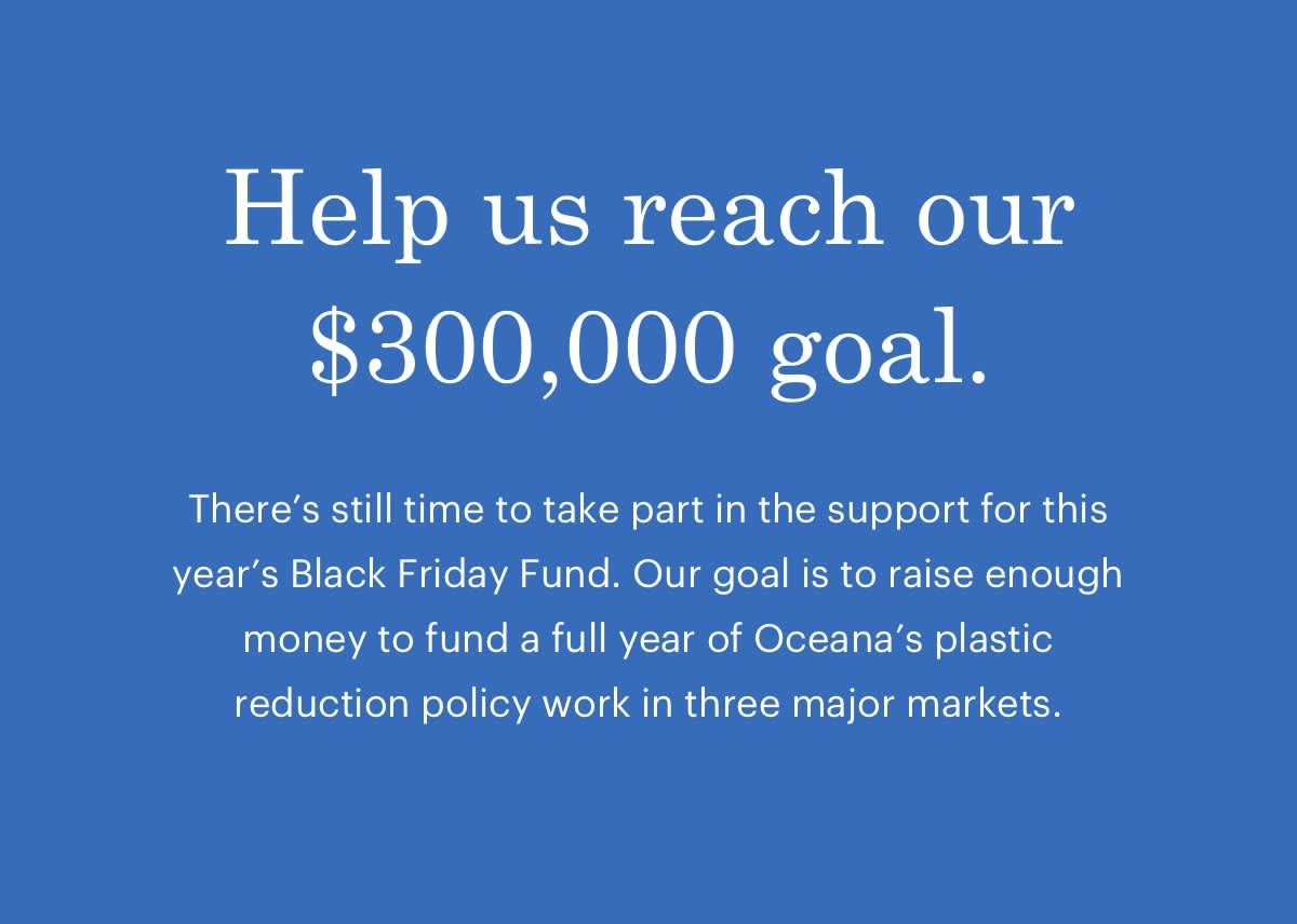 Help us reach our $300,000 goal.