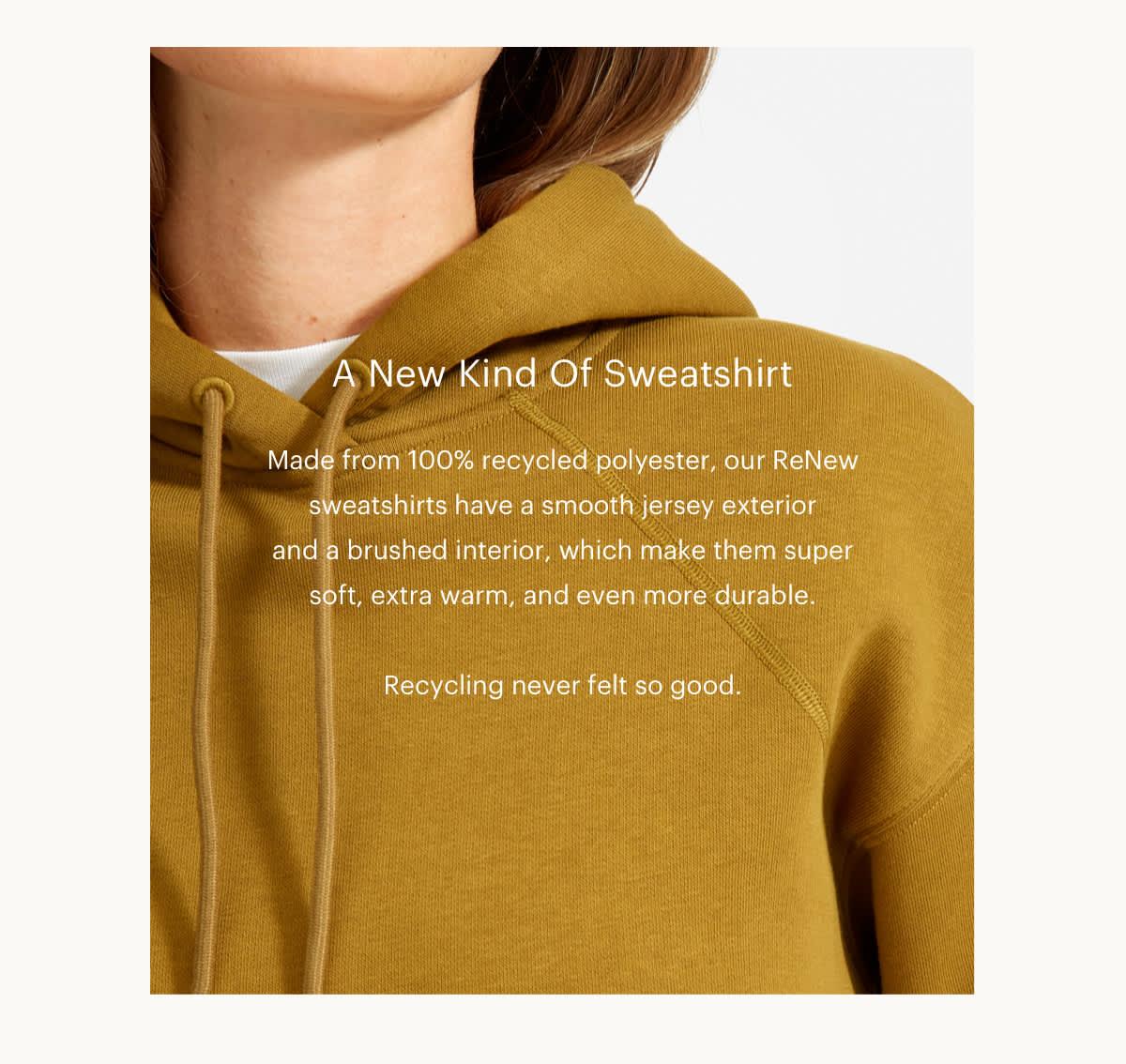 A New Kind Of Sweatshirt