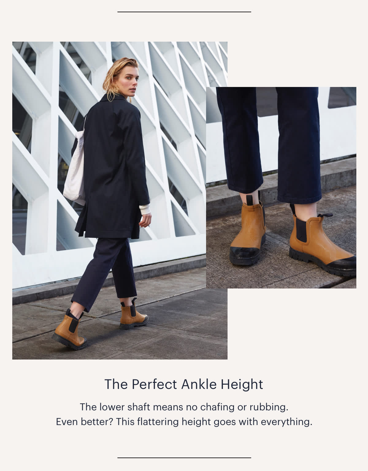 The Perfect Ankle Height