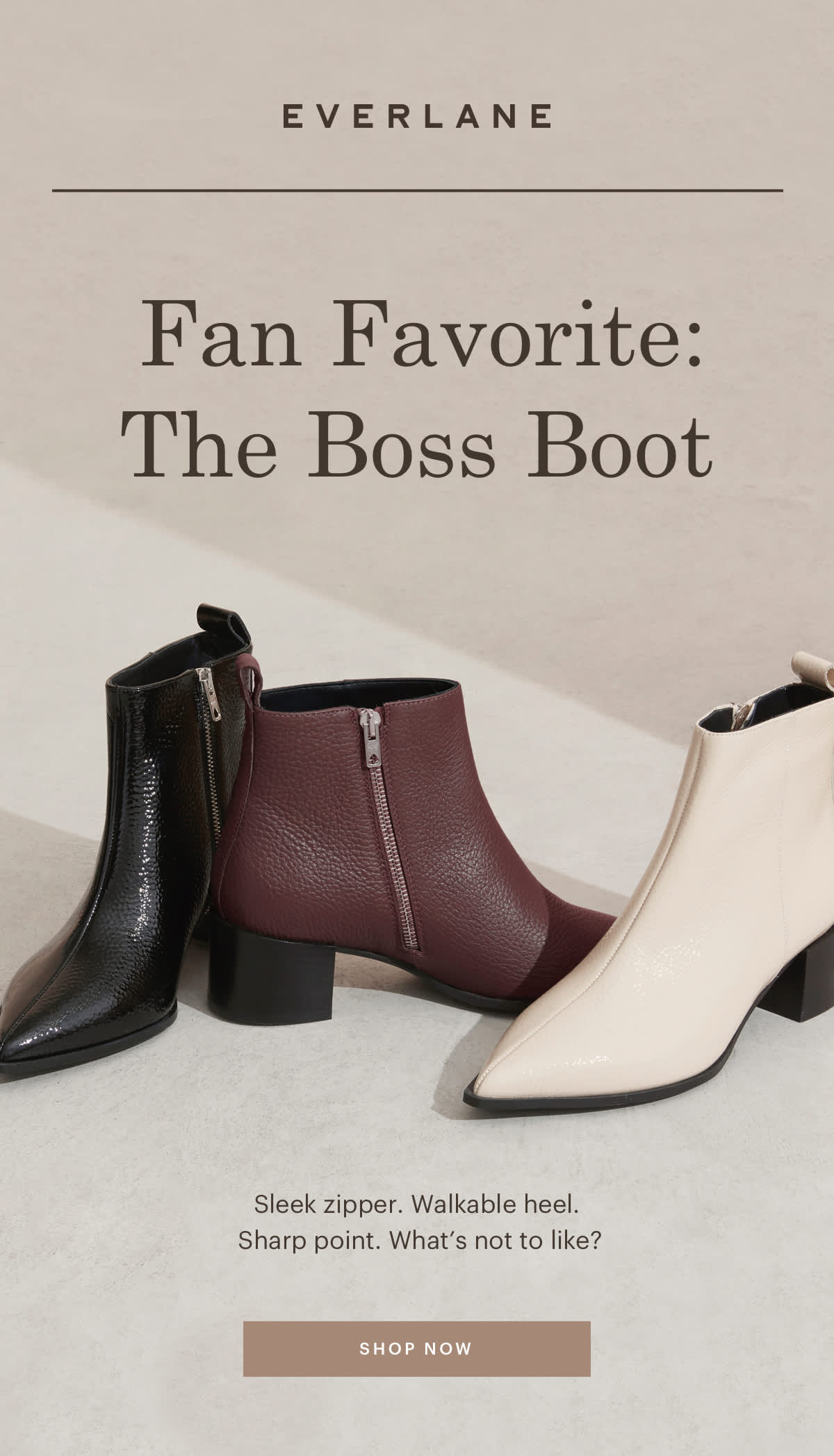 Fan Favorite: The Boss Boot