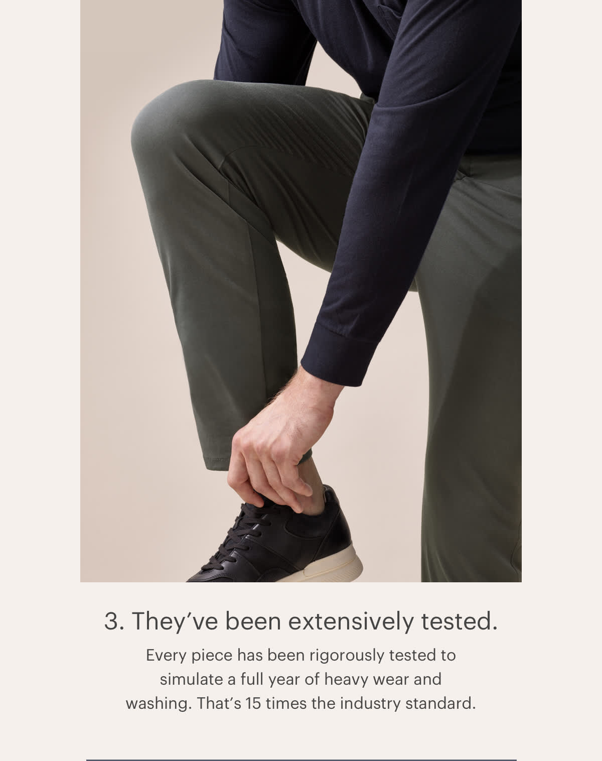 3. They've been extensively tested.