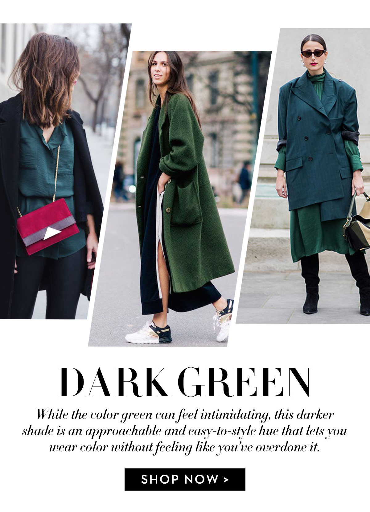Shop Dark Green