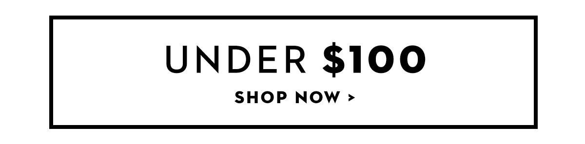 Shop Under $100