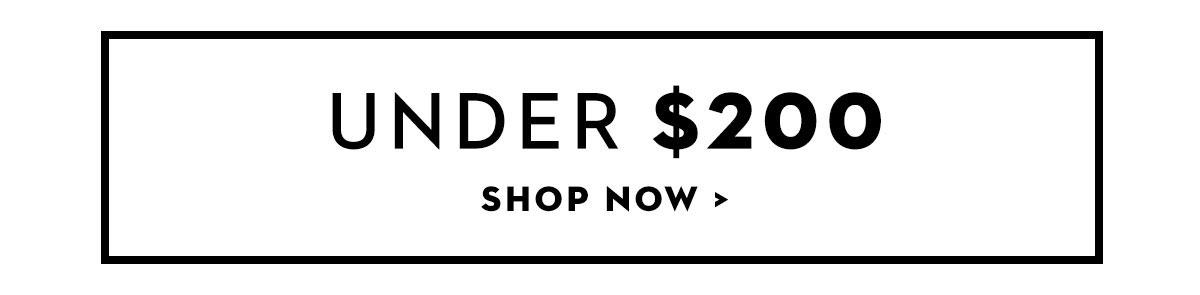 Shop Under $200