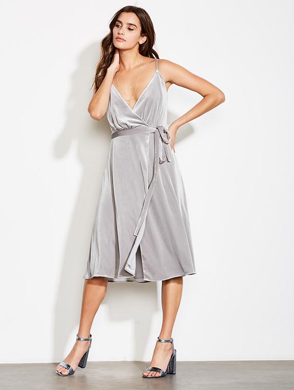 Image of Baby Love Wrap Dress