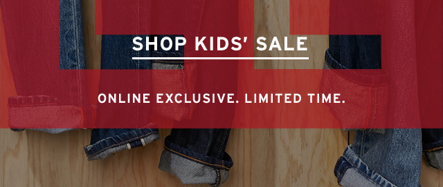 Shop Kid's Sale