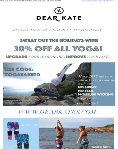 Don't miss out on our New Years yoga discount!! Use YOGATAKE30 at checkout!