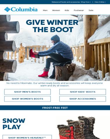 Winter-ready gear + our Winter Sale.