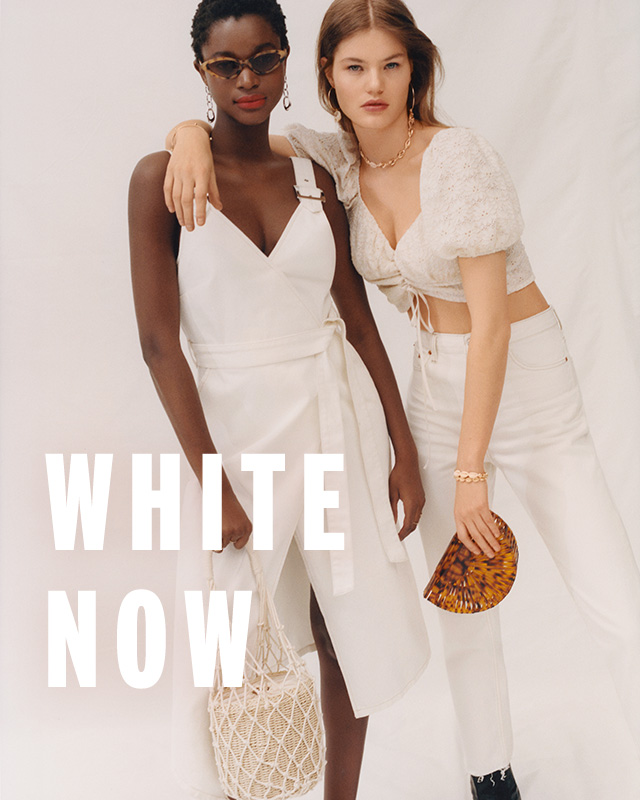 Right now, it's all about fresh whites