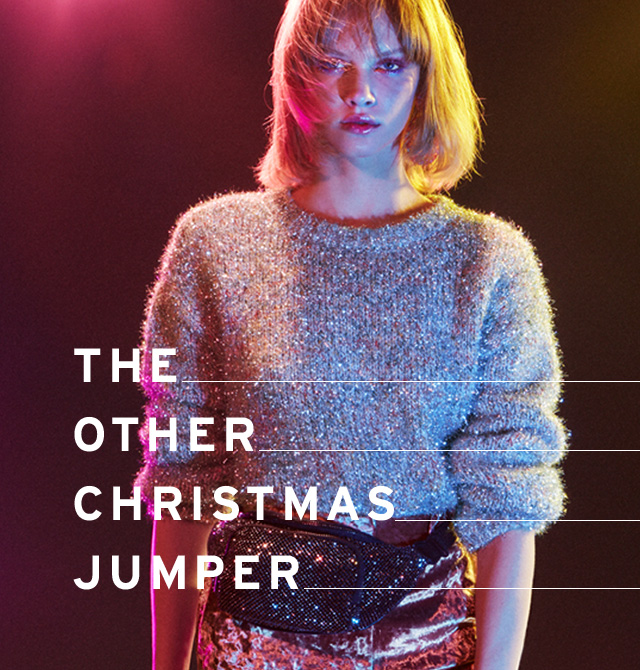 Discover Christmas sweaters, minus the novelty
