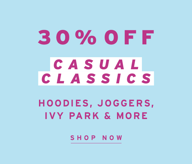 30% Casual Classics
