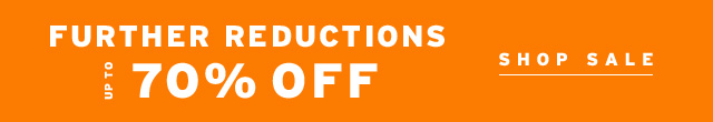 Further Reductions Up To 70% Off - Shop Sale
