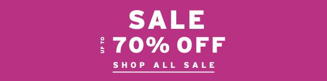 Sale 70% Off