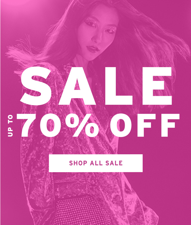 Up To 70% Off Sale now!