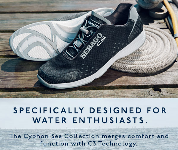 DESIGNED FOR WATER ENTHUSIASTS