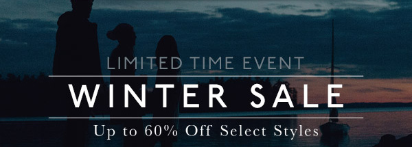 LIMITED TIME EVENT - WINTER SALE