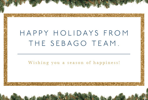 HAPPY HOLIDAYS FROM THE SEBAGO TEAM.