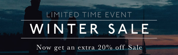 WINTER SALE - EXTRA 20% OFF