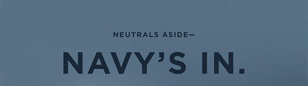 Neutrals Aside- Nacy's In.