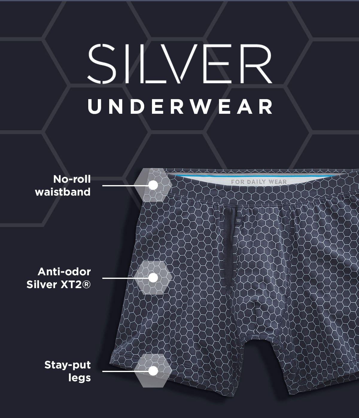 Silver Underwear