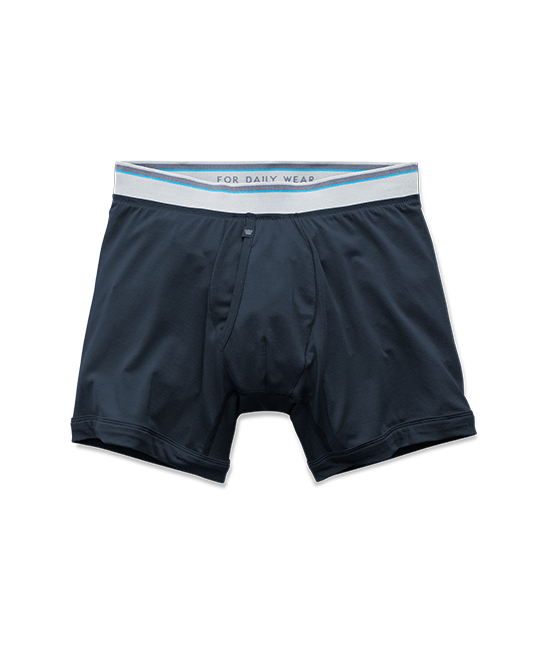 18-Hour Jersey Boxer Brief in Blue Night