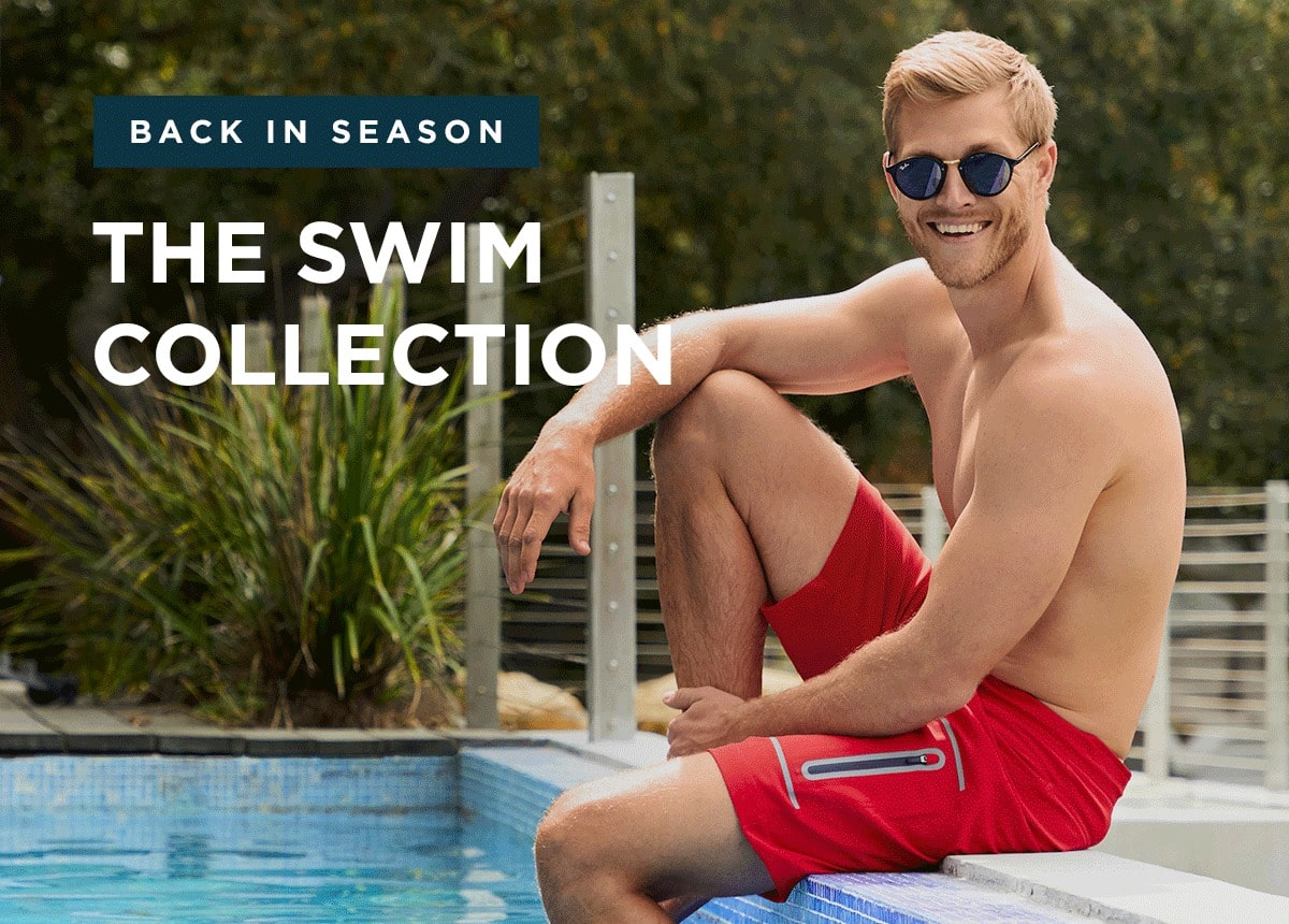 Back In Season. The Swim Collection.