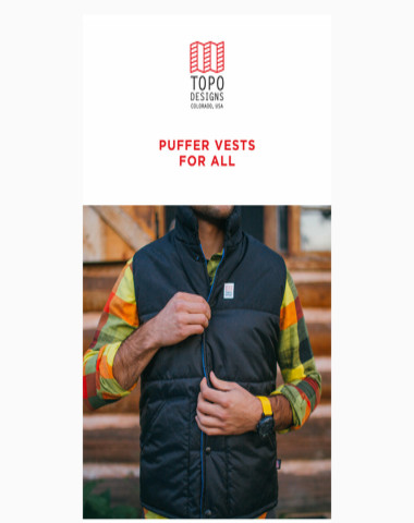 Puffer Vests for All
