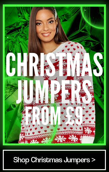 Christmas jumpers from £9