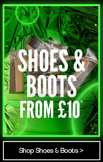 Shoes and Boots from £10