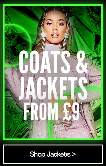 Coats and Jackets from £9