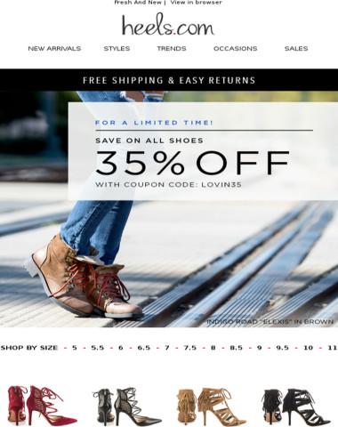 OMG! 35% Off Sitewide! #SUNDAYFUNDAY
