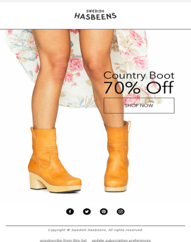Country Boot - NOW 70% off!