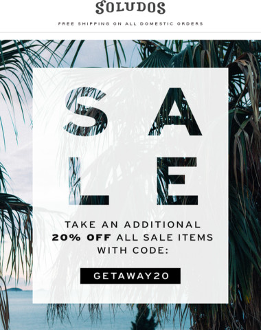 ☀Don't Forget: Extra 20% off ALL sale items!