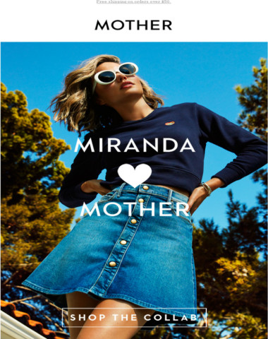 MIRANDA + MOTHER: PREVIEW THE COLLECTION