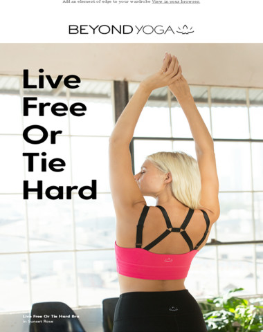 New Styles That Live Free Or Tie Hard