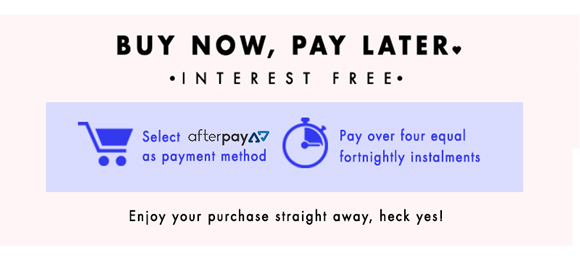 Buy now, pay later with Afterpay