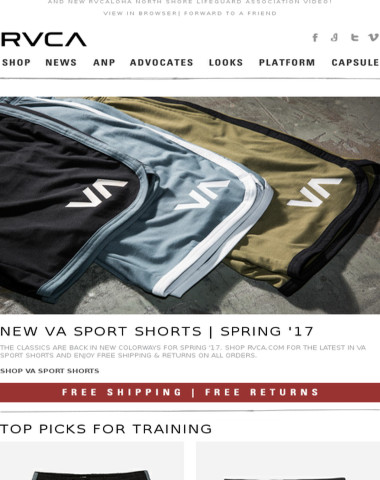 New Shorts + Our Top Picks For Training