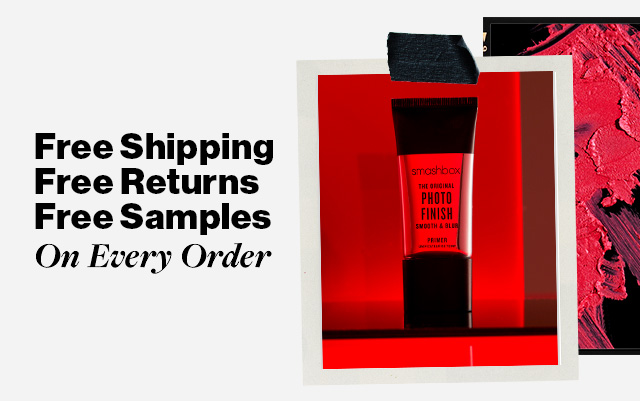 Free Shipping Returns And Samples