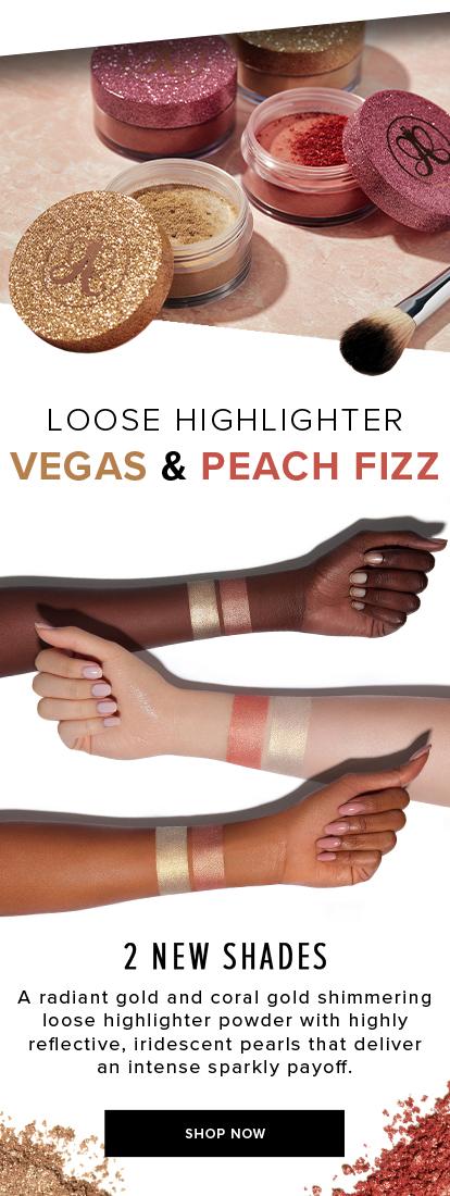 LOOSE HIGHLIGHTER VEGAS & PEACH FIZZ. SHOP NOW