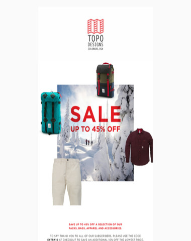SALE: Save up to 45%