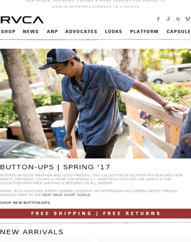New Button-Ups & Aidan Campbell Inspired By!