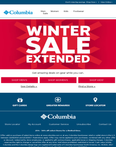 Winter Sale Extended - unreal deals!